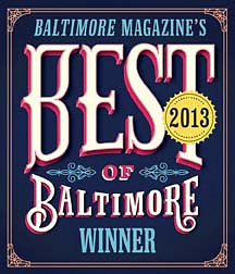 Best of Baltimore Winner